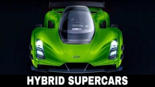 10 New Supercars with Hybrid Powertrains Taking Us Closer to Record Braking Speeds