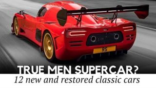 12 Supercars with Timeless Looks and Classic Models to Make Any Auto Collector Nostalgic
