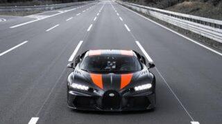 490+ kilometers per hour   Bugatti Chiron   Speed record