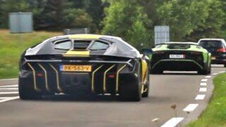 Accelerations! – Cars leaving Supercars & Classics meet