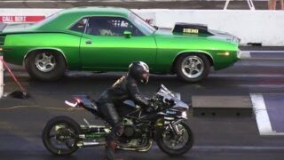 Cars vs Superbikes – drag racing – 604 Street Legit