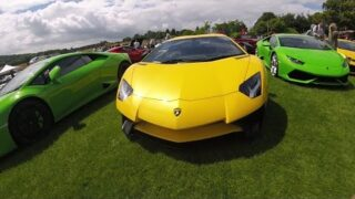 Classic and Supercars at Sherborne Castle