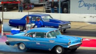 DRAG RACING OLD SCHOOL CARS 70s and OLDER AT BYRON DRAGWAY