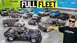 Ken Block's Entire Fleet Gets NEW Wheels – Full Tour!