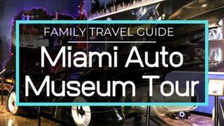 Miami Auto Museum Tour, Dezer Collection, Hollywood, Classic, Military, Supercars, James Bond Batman