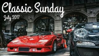 Modern & Classic Supercars at CLASSIC SUNDAY July 2017