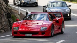 Passione Engadina 2020 / Classic and Supercars / F40, Lancia Stratos, Countach and many more