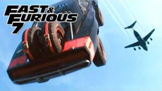 Plane Drop Scene 1/3 – FAST and FURIOUS 7 (Charger, Impreza, Wrangler, Challenger, Camaro) 1080p