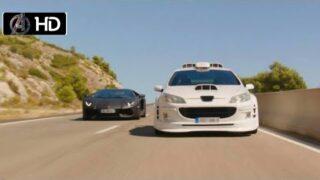 Taxi 5: Taxi vs Lamborghini Racing Scene / HD
