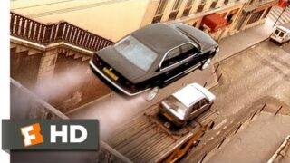The Transporter (1/5) Movie CLIP – A Sick Car Chase (2002) HD