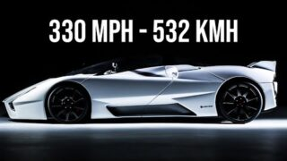 Top 10 FASTEST SUPERCAR – HYPERCAR in the world of all time 2020