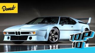 Top 10 Supercars From the 80's | Donut Media