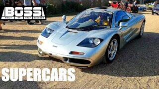 Unbelievable Supercars & Classic Cars Leaving Hampton Court | BOSS