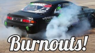 Goodwood Festival of Speed: Insane Donuts and Burnouts Compilation! (Feat. Ken Block and Mad Mike)