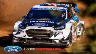 On Board with Ken Block at WRC Rally Spain | Ford Performance