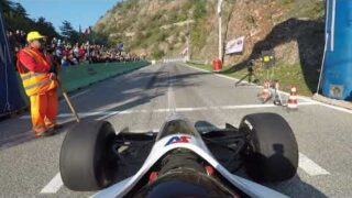 Scott Moran FIA Hillclimb Masters 2018. Gubbio, Italy.