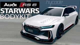 Audi RS6 STARWARS BODYKIT by hycade