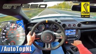 SHELBY MUSTANG GT350 TOP SPEED on AUTOBAHN [NO SPEED LIMIT] by AutoTopNL