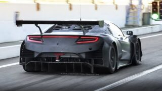 2 x Honda NSX GT3 Evo in Action at Monza Circuit: 3.5L Twin-Turbo V6 Sound