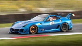 Best of Ferrari 599XX Evoluzione: Sound, Accelerations, Downshifts & Hot Brake Rotors!