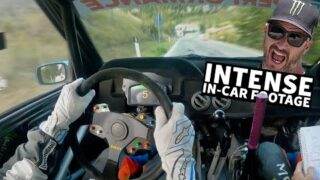 Ken Block Raw Onboard Footage! Blistering Fast Tarmac Stage. Rally Legend – S7