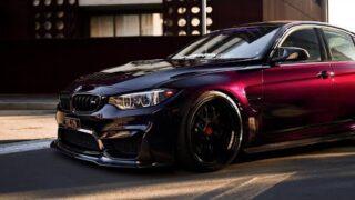 Purple Rein; BMW M3   4K