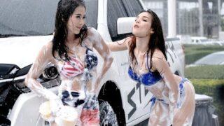 Thai Sexy Car Wash @ fast auto show 2019