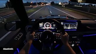 The New Mercedes G63 AMG G Wagon 2021 Night Test Drive