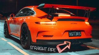 This STRAIGHT PIPED Porsche GT3RS Sounds INSANE!!!