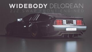 Widebody Delorean | Tuningblog Special ★ Timelapse – Adry53