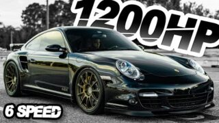 1200HP Manual Porsche IS A DREAM! – 911 Turbo AWD (200MPH Daily on STOCK Transmission!)