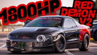 1800HP RED DEMON RETURNS – Building the CRAZIEST DSM EVER! (Manual AWD 4G63 on 80PSI)
