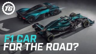Is the Aston Martin Valkyrie really an F1 car for the road?   Top Gear
