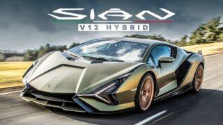 NEW Lamborghini Sian FKP 37: 808 hp, V12 Hybrid Supercar – First Drive Review   Carfection 4k