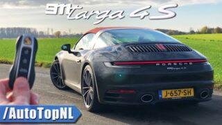 Porsche 911 992 TARGA 4S | REVIEW on AUTOBAHN [NO SPEED LIMIT] by AutoTopNL