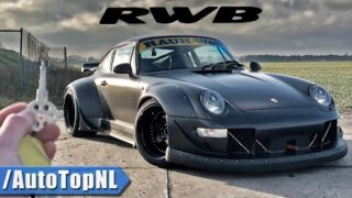 """PORSCHE 993 RWB """"SINGER FROM HELL"""" REVIEW on ROAD & AUTOBAHN by AutoTopNL"""