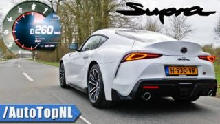 Toyota Supra 2.0T ACCELERATION TOP SPEED & SOUND by AutoTopNL