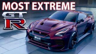 Nissan GTR BODYKIT by hycade