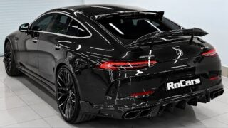 2021 Mercedes AMG GT 4 Door – Brutal GT from Larte Design!