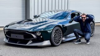 FIRST DRIVE! Aston Martin VICTOR Flat Out In £4m V12 Manual Hypercar!