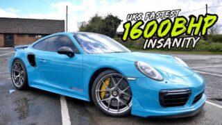 THIS 1600BHP PORSCHE 911 TURBO S IS PURE INSANITY.. UKS FASTEST!