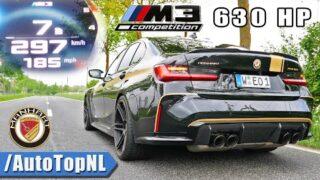 630HP BMW M3 G80 Manhart 0-297 *OPF DELETE* ACCELERATION & SOUND by AutoTopNL