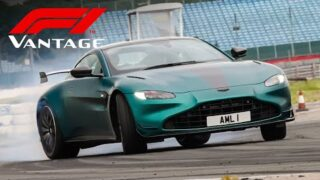 NEW Aston Martin Vantage F1 Edition: Track & Road Review   Carfection 4K