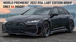 WORLD PREMIERE! 2022 AUDI RS6 JOHANN ABT SIGNATURE EDITION 1of64! 1000NM! MOST EXCLUSIVE AUDI EVER?