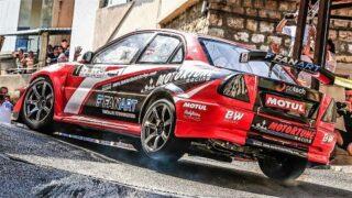 INSANE Driving Skills Narrow Streets    550Hp Lancer Evo HillClimb Monster