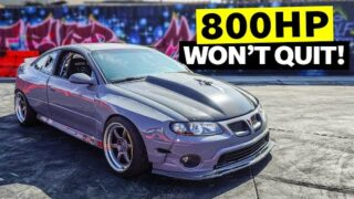 800hp Supercharged GTO Smokes Out our Lot. Build Breakdown is Back!!