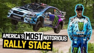 America's Most Notorious Rally Stage. Ken Block's POV Footage: Concord Pond @ NEFR