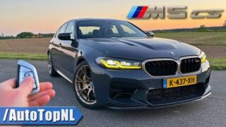 BMW M5 CS | REVIEW on AUTOBAHN [NO SPEED LIMIT] by AutoTopNL