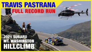 Travis Pastrana's Full Record Run at 2021 Mt. Washington Hillclimb