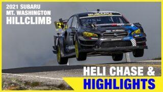 Helicopter Chase & Highlights – Travis Pastrana's Mt. Washington Hillclimb 2021